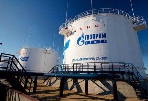 Gazprom, perusahaan minyak Rusia