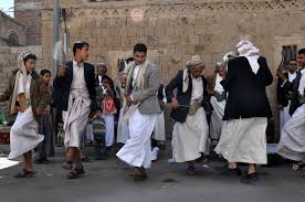 Yemen traditional dance (source: anthonybourasseau.com)