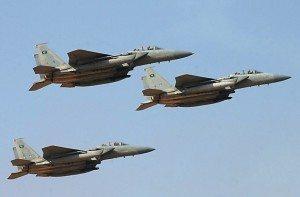 koleksi jet tempur Arab Saudi (foto: AFP)