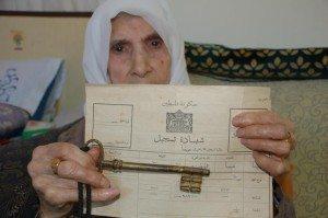 ibu palestina dan kunci rumahnya