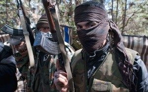 syrian rebel in turkish border (telegraph.co.uk/david rose)