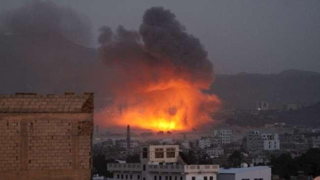 Serangan bom di Yaman (Foto: CNN)