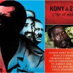 """Poster kampanya Kony 2012 yang disebarkan """"Invisible Children"""""""