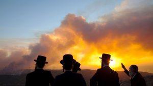 kebakaran-israel