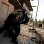 pasukan irak bertempur di mosul