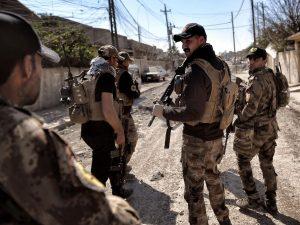 pasukan irak di mosul barat