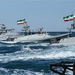 perahu tempur IRGC iran