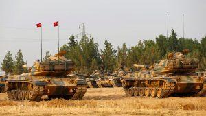 tank turki di suriah