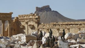 tentara suriah di palmyra