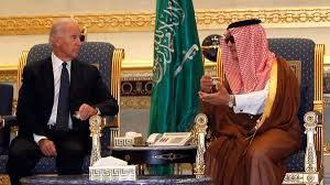 Joe Biden dan pejabat Saudi