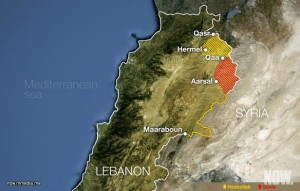arsal-map-lebanon