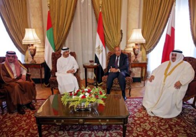 kubu saudi anti qatar di kairo