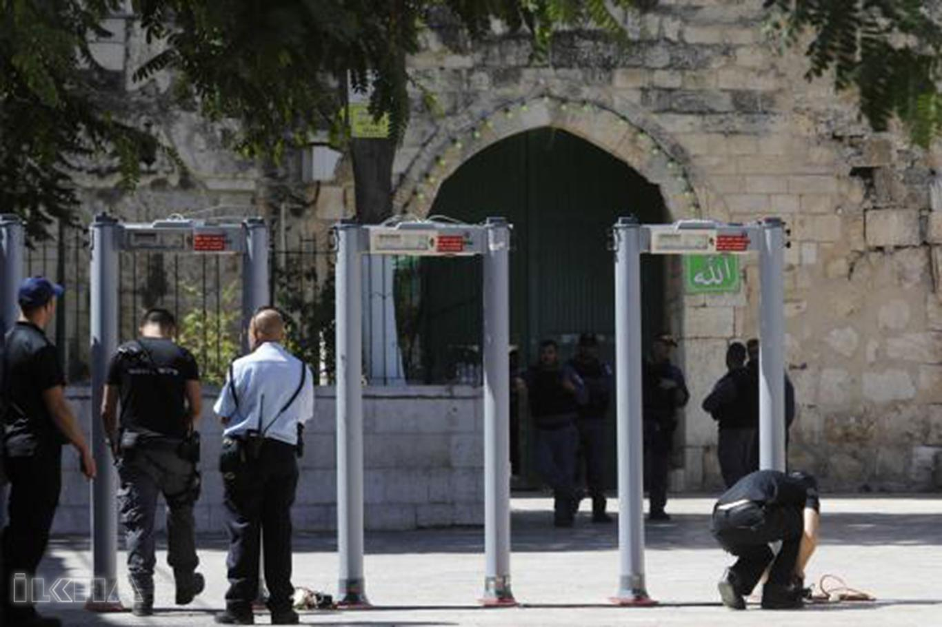 metal detector di al-aqsa