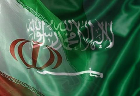 bendera iran-saudi
