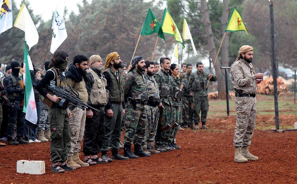 SDF, didirikan dan dibiayai AS, anggotanya didominasi milisi Kurdi