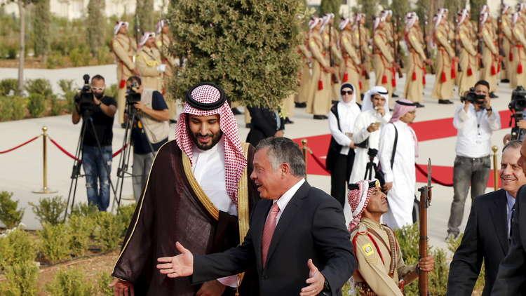 bin salman dgn raja abdullah yordania