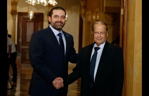 lebanon aoun dan hariri