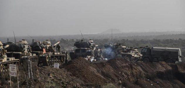pasukan tank turki di afrin