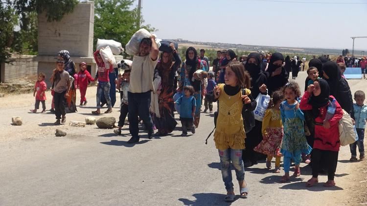 pengungsi afrin