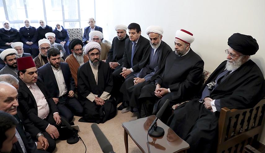 khamenei dan menteri wakaf suriah