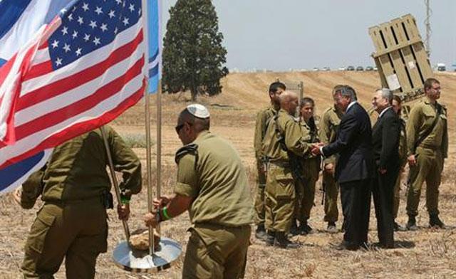 latihan perang israel dgn AS