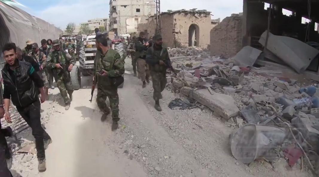 tentara suriah di sabqa
