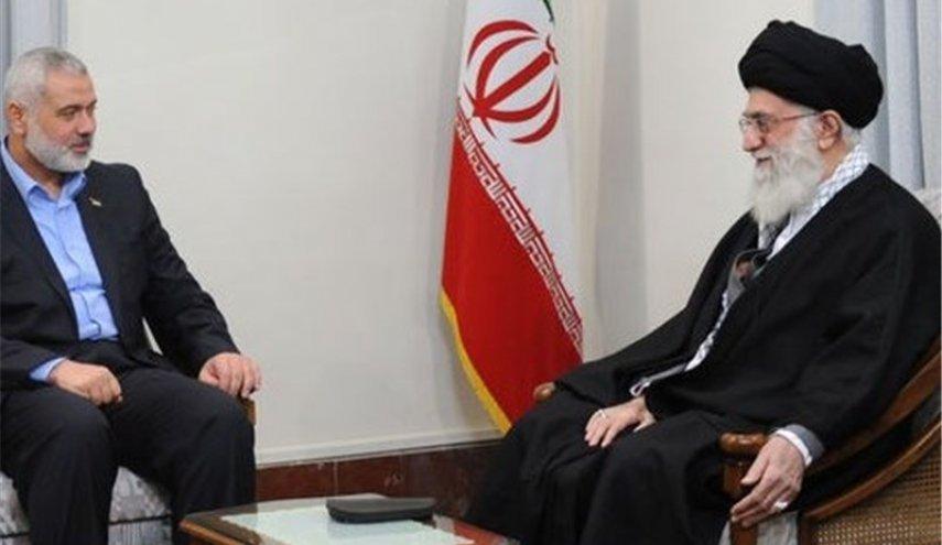 khamenei dan haniyeh