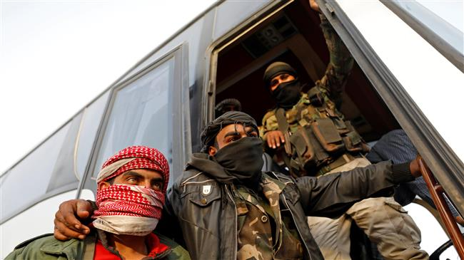 militan di bus ghouta
