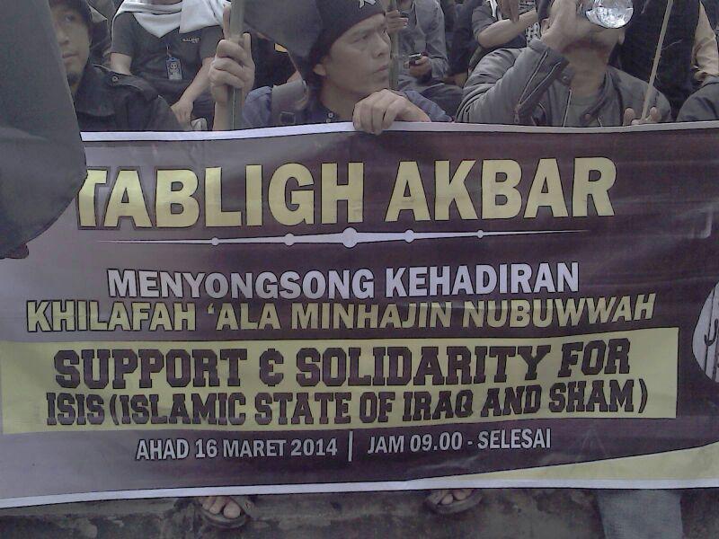 Tabligh Akbar Pro-ISIS di Bundaran HI Jakarta