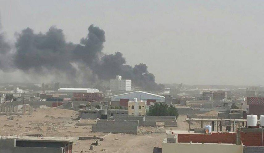 serangan udara saudi di hudaydah