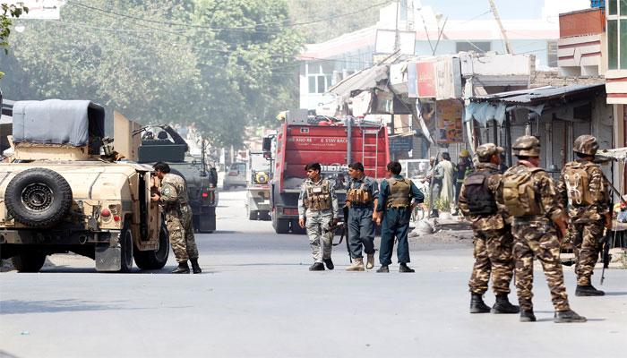 tentara dan polisi afghanistan