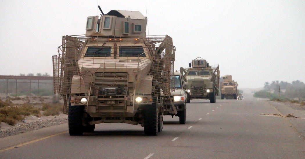 pasukan koalisi di yaman