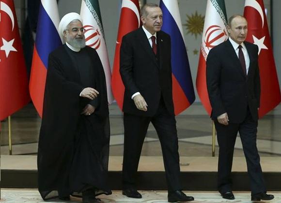 segitiga rusia iran turki