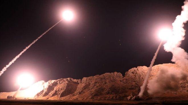 serangan rudal iran thd ISIS 2